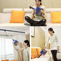 Low Noise Household Rod Vacuum Cleaner Portable Handheld Dust Collector Powerful Aspirator With Soft Brush EU