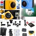 360 720 P 1280*1024 Câmera de Ação de 360 Graus Câmera De Vídeo Wi-fi 360x190 Grande Lente Panorâmica Panorama Câmeras esporte