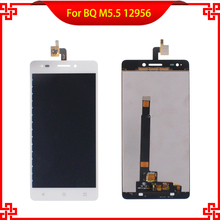 High Quality LCD Display Touch Screen Digitizer Assembly For BQ Aquaris M5.5 12956 Tested Mobile Phone LCDs Free Tools