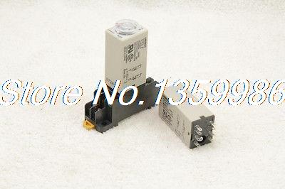 H3Y-2 H3Y DC12V 5A 0.1-1.0 Second 1S Time timer relay 8 pins