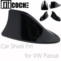 1pcs Quality Painting Car Shark Fin Antenna Aerials for Volkswagen VW Passat Sedan with Radio Function Decoration Replacement