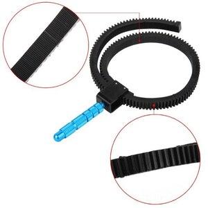 Image 4 - ใหม่SLRอุปกรณ์เสริมกล้องDSLRปรับยางติดตามเกียร์แหวนเข็มขัดอลูมิเนียมจับโลหะผสมสำหรับกล้องกล้องDSLR