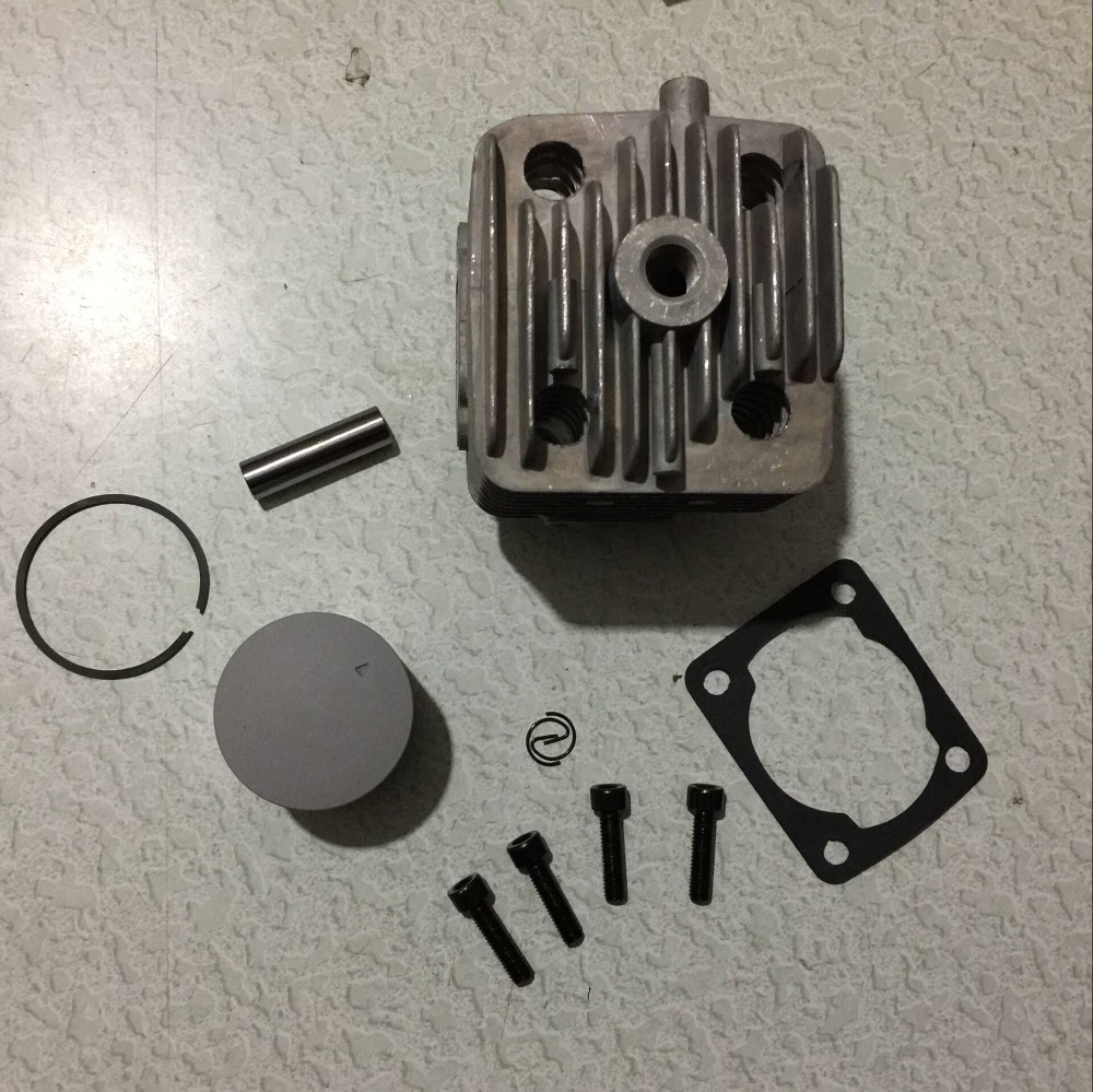 36cc engine parts Cylinder Kit fit for Chong Yang engine TSRC engine jiangdong engine parts for tractor the set of fuel pump repair kit for engine jd495