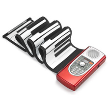 DoReMi 61 Keys Roll Up Electronic Organ Midi Universal Portable Electronic Piano Keyboard Musical Instrument Lover