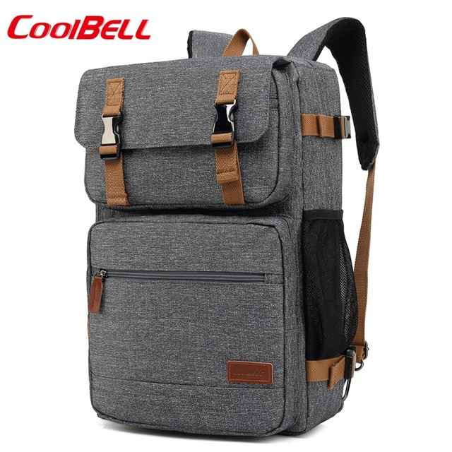 M170 Stylish Travel Large Capacity Backpack Male Luggage Shoulder Bag 17.3