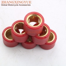 6pcs set 7gsm 16x13 Performance Roller Weights Variator Slider Set for 49cc 50cc GY6 Chinese