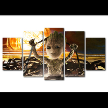 5pcs diy Diamond Painting Cross Stitch Baby Groot full square Diamond Mosaic beaded Embroidery Rhinestones H306 5pcs diy diamond painting cross stitch brown bear full square diamond mosaic beaded embroidery rhinestones h333
