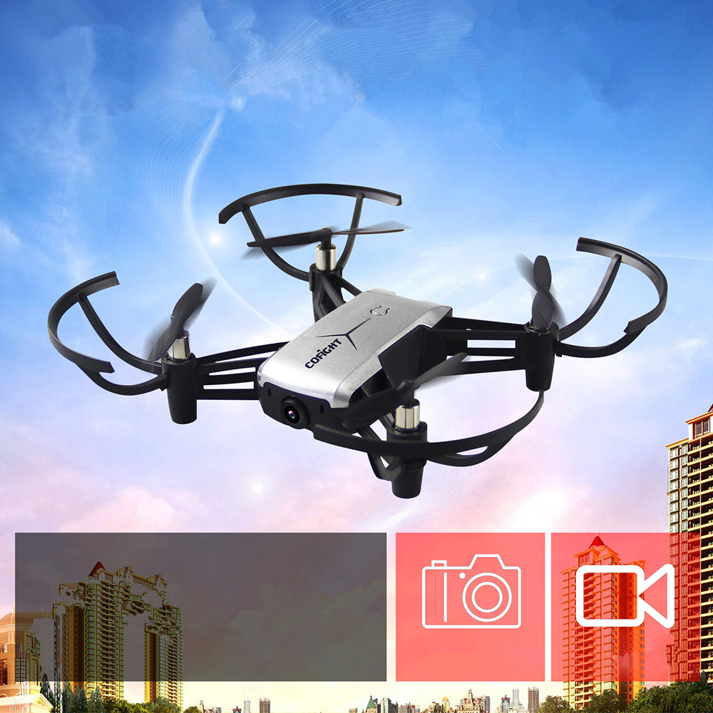 2.0MP 720P WIFI FPV Camera Mini RC Drone Quadcopters RC Helicoputers Set Height Holding Auto Return One Key /Take Off/Landing