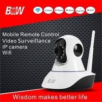 BW Wireless IP Camera Smart Home HD Night Vision Camera 360 Degree Rotation Monitoring 720P Two
