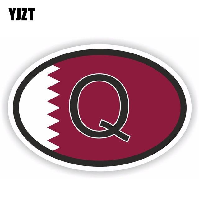 Yjzt 158cm108cm Personality Qatar Country Code Deca Flag