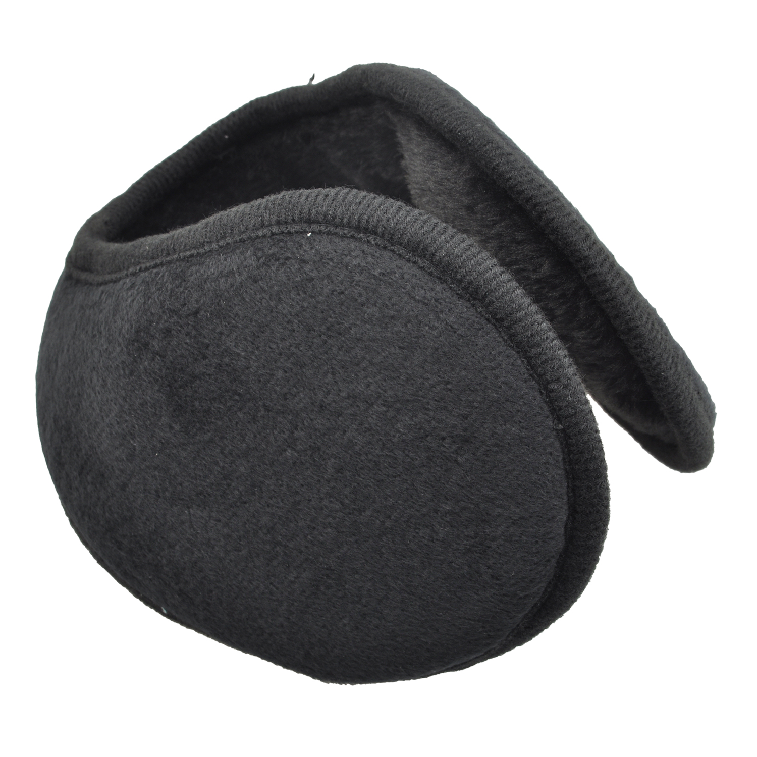 Verwong Black Men Women Soft Plush Covered Pads Wrap Earmuffs Ski Ear Muffs Warmers