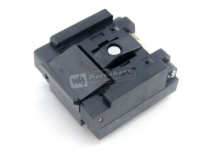 Modules QFN24 MLP24 MLF24 QFN-24BT-0.5-01 QFN Enplas IC Test Burn-in Socket Programming Adapter 0.5mm Pitch qfn20 mlp20 mlf20 qfn 20b 0 5 01 qfn enplas ic test burn in socket programming adapter 4x4mm 0 5mmmpitch