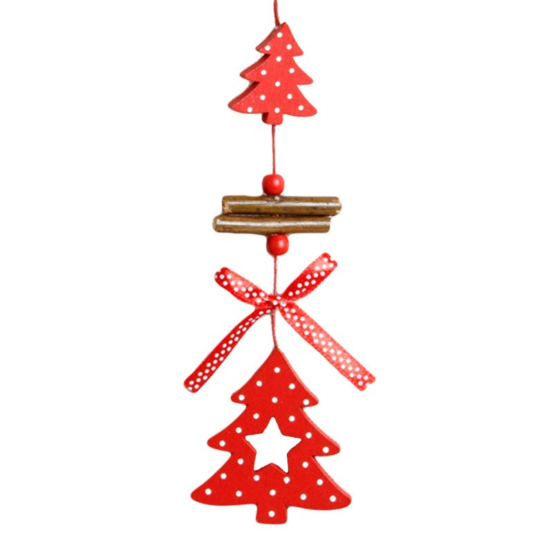 4Pcs Santa Claus Novelty  Buckle Trendy Cute Holder Christmas Xmas Party Decor