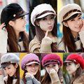Hot Sale New Fashion Women Ladies Elegant Rabbit Fur Chain Cap Super Warm Winter Skullies Hats For Women touca High Quality Z1