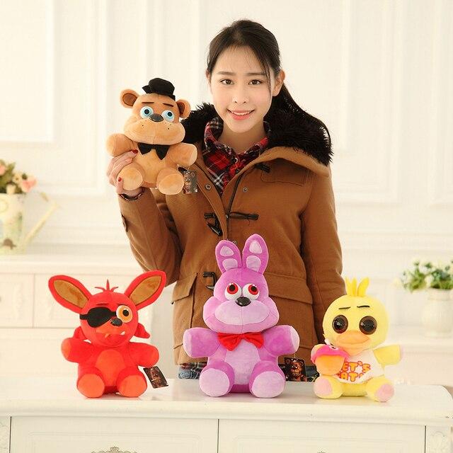 25 см 4 шт./компл. полночь шаровары плюшевый мишка куклы, Лиса кролик плюшевые игрушки, Подарки на день рождения, Рождественские подарки