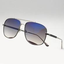 Square Sunglasses Men Alloy Frame Gradient UV400 Lens 2018 Summer Fashion Eyewear Oculos De Sol Masculino Vintage Fashion Shades