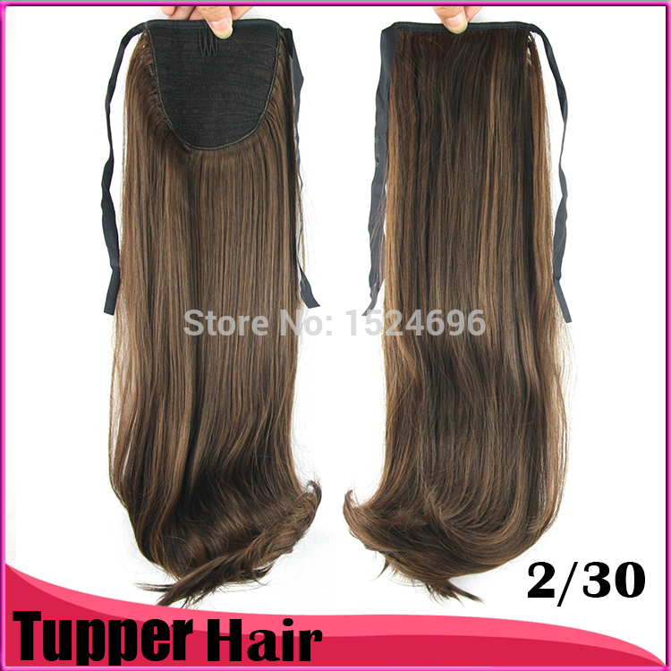 New Arrival Fast Shipping 2050cm 125g Ponytails Cheap Long
