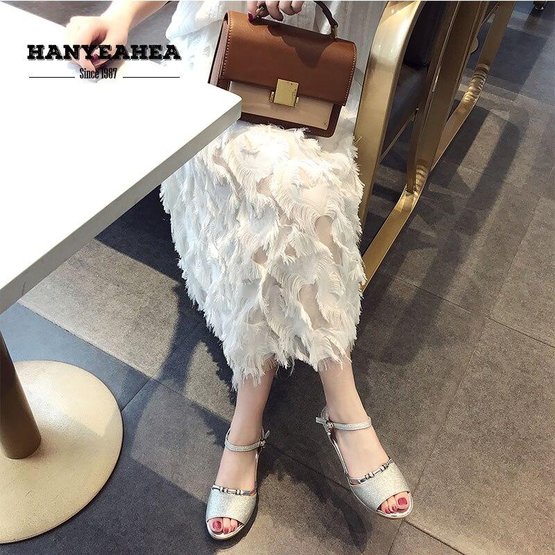 Open Toe Sandalias De Verano Para Mujer Sweet Leisure High Heels Elegane Fashion Open Toe Sandalias De Verano Para Mujer(China)