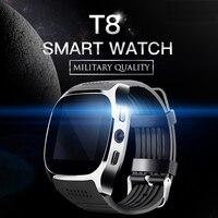 Liedao Bluetooth Smart Watch Smartwatch T8 Android Phone Call Relogio 2G GSM SIM TF Card Camera For iPhone Samsung Huawei XiaoMi