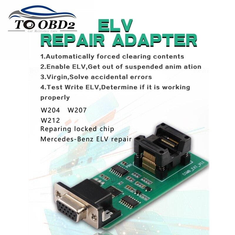 CGDI オリジナル ELV 修復アダプター CGDI Prog mb ベンツ車のキープログラマー修復、ロックされたチップ  グループ上の 自動車 &バイク からの 車の診断ケーブル & コネクタ の中 1