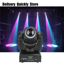 Light strip on head disco Led 30W gobo Moving Head light color image wheel good Use for Home entertainment party KTV Night Club