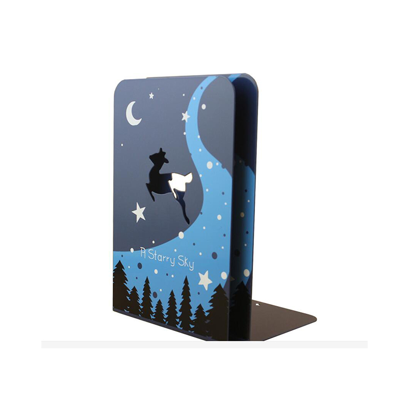 2 Pics/Lot Cute Cartoon Desk Bookend Organizer School Bookend Books Holder Stand Metal Bookends Office Stationery Supplies цена