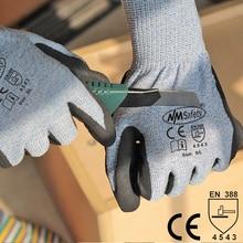 NMSafety Work Gloves Mechanic Gloves Anti Cut Work Glove guantes anticorte resistencia nivel 5