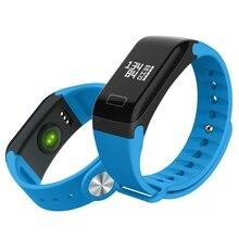 Горячая Смарт-браслет Спорт Приборы для измерения артериального давления кислорода сердечного ритма Фитнес Смарт-часы запястье браслет для подарка на день рождения