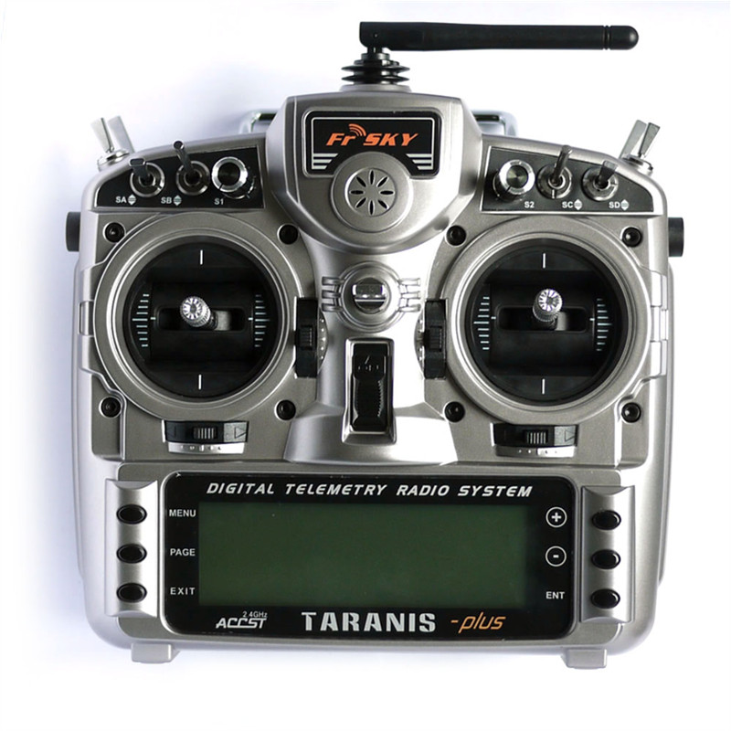 Tarot-RC FrSky Taranis X9D Plus 2.4G ACCST Transmitter With X8R Receiver For RC Multicopter frsky tfr6 a 7ch fasst compatible receiver for rc multicopter