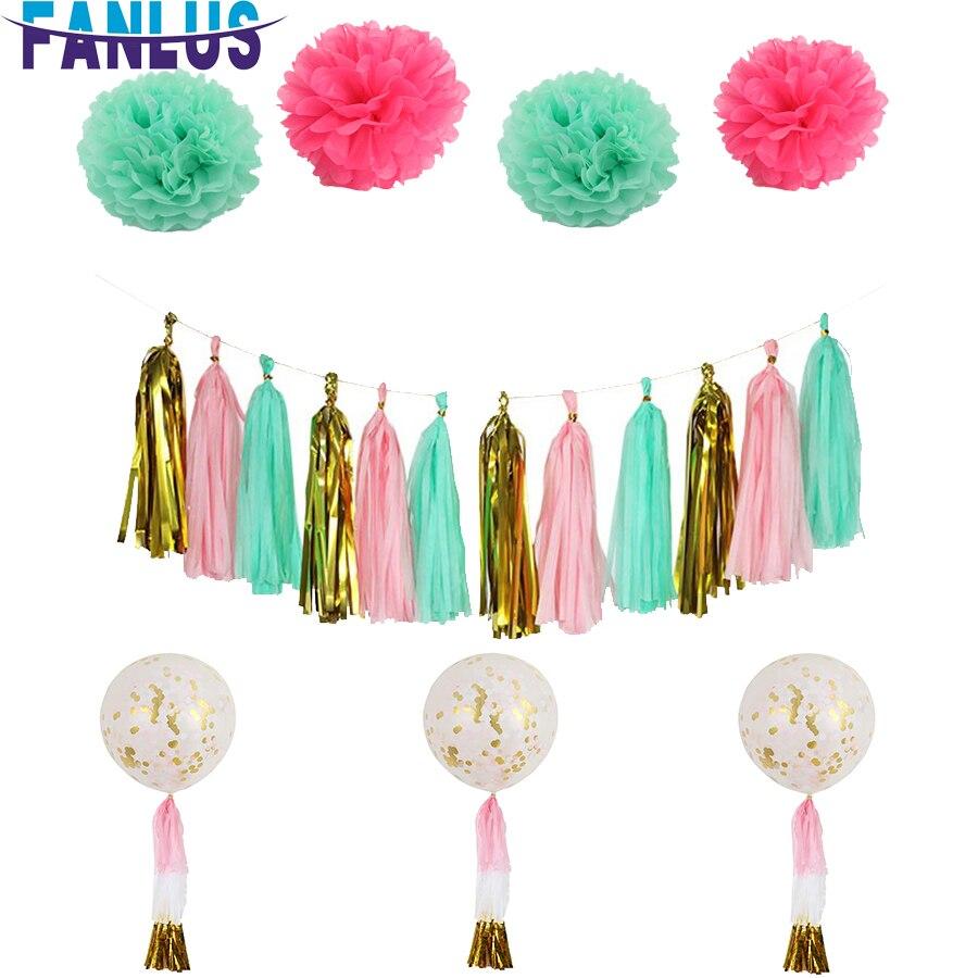 Купить Вечерние шары Искусственные цветы Свадебные ...