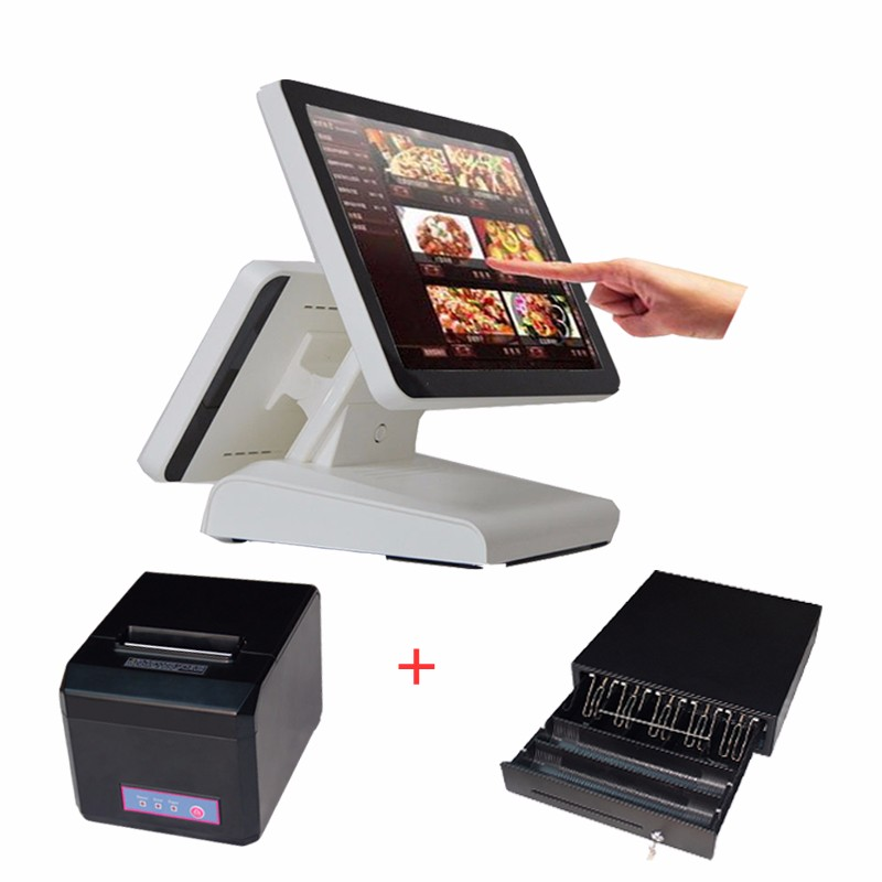 1619 pos pc with 80mm printer cash drawer