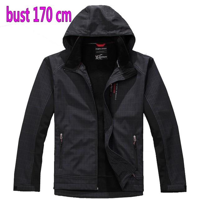 brand tops Free shipping plus size XXL XXXL 4XL 5XL 6XL 8xl Large autumn and winter jacket men's clothing jacket proof coat