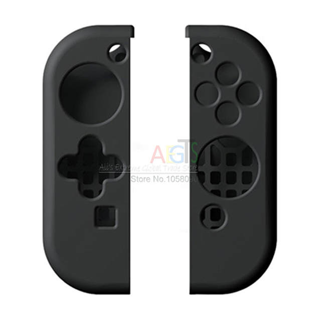 meet e992f 60ba3 US $2.99 |Silicone Gel Case for Switch Gamepad Joypad Protective Skin Cover  Case for Nintendo Switch NS Controller Protection Shell-in Cases from ...