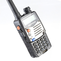 dual band vhf uhf 2pcs Baofeng UV5RA מכשיר הקשר UV5RA משודרג Band Dual VHF גרסה UHF CB רדיו FM VOX משדר לציד שני הדרך רדיו (4)