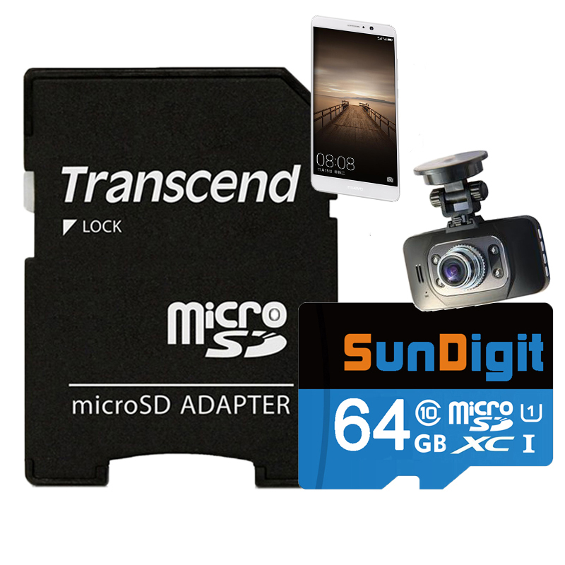 Brand New SunDigit Memory Card 16 32 64 GB Micro SD SDHC...
