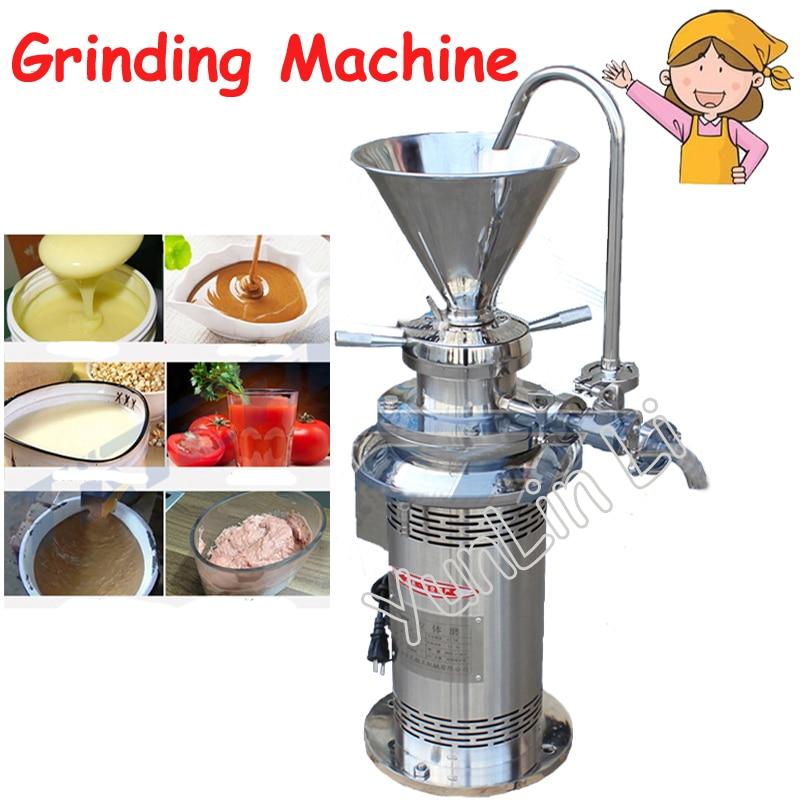 Vertical Peanut Grinder Peanut Sesame Sauce Colloid Mill Soybean Grinding Machine JML50 молдинги bai li heng 4s 12 13 viaggio