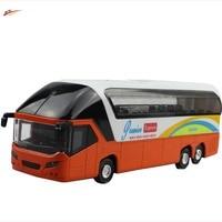 High Simulation School Bus 1 43 Scale ABS Alloy Doors School Bus Model Diecast Bus Cars