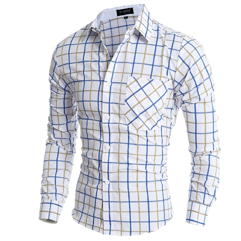 Camisa -Cuadros-Hombre-Brand-Dress-Shirts-Mens-Plaid-Shirt-Slim-Fit-Chemise-Homme-Men-Shirt-Heren.jpg eb74f1b8843