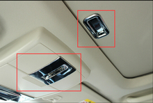 ABS хром люк ручка + переключатель Декоративные крышка отделка 2 шт. для Dodge Journey Fiat Freemont 2009-2014 стайлинга автомобилей аксессуары!