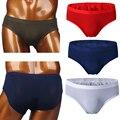 Free Shipping Men's Briefs 2016 New Style Sexy Transparent Summer Seamless Thin Low Waist Style Silky Soft Ice Silk Underwear
