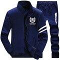 Sportswear dos homens da forma 4XL Outono s porta terno roupas masculinas fatos de treino homens hoodies tracksuits camisolas masculinos Plus Size 4XL LK58