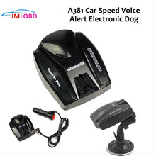 Anti Radar Detector de Velocidade Do Carro, a381 Velocidade Do Carro de Alerta de Voz Detector de Radar Cão Eletrônico Inglês E Russo E09