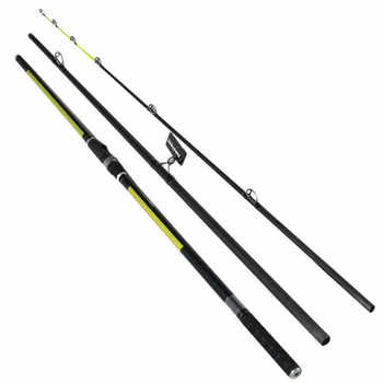 Japan Quality Distance Throwing Rod Surf Rod 4.2M 46T high-carbon 3 Sections 100-200G Surf casting rods GAN057 - SALE ITEM Sports & Entertainment