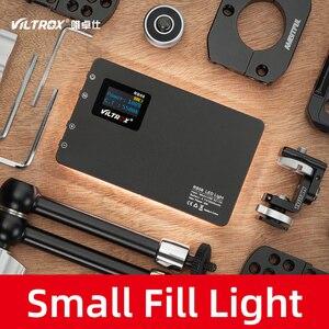 Image 3 - Viltrox luz de led portátil, luz de preenchimento de luz embutida para vídeo rb08 2500k 8500k bateria para câmera de celular estúdio de tiro