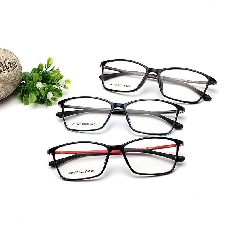 2018 Fashion Optical Glasses Frame Women Men Light Glasses Frames Male Gaming Eyeglasses Frame Fit For Myopia Lens Oculos YJ61