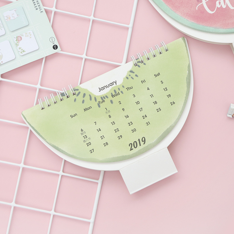 Calendars, Planners & Cards Logical 2019 Lovely Christmas Calendar Diy Desktop Calendar Agenda Organizer Daily Schedule Planner 2018.09~2019.12