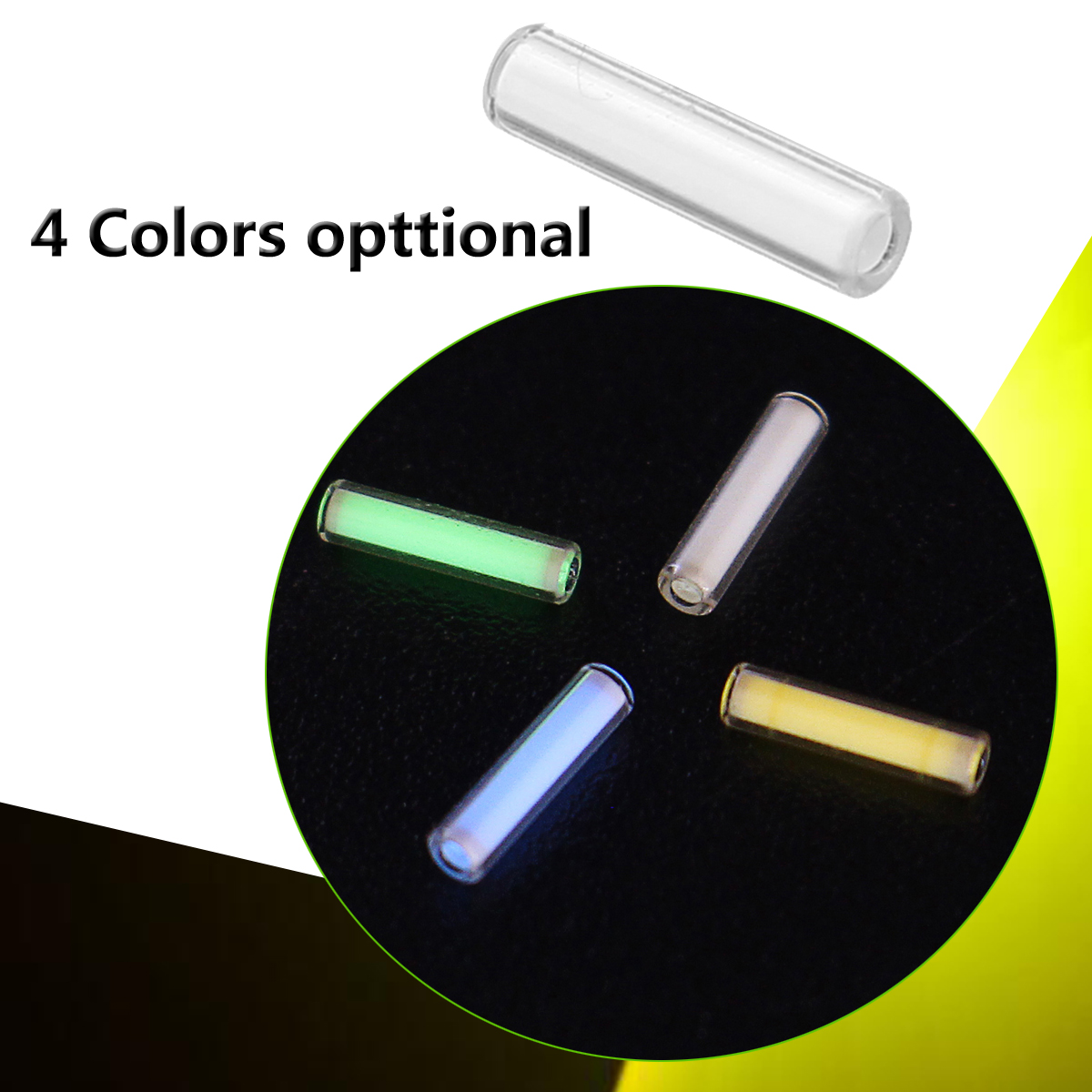 Fluorescent Light Gas: 1Pcs 16x11mm Automatic Light Tritium Gas Tube Self