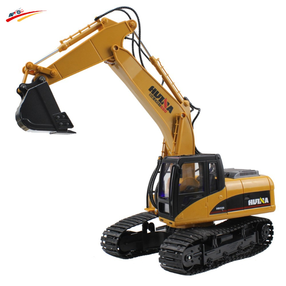 RC Truck 15 CH 2.4G Alloy Excavator Electric Remote ...