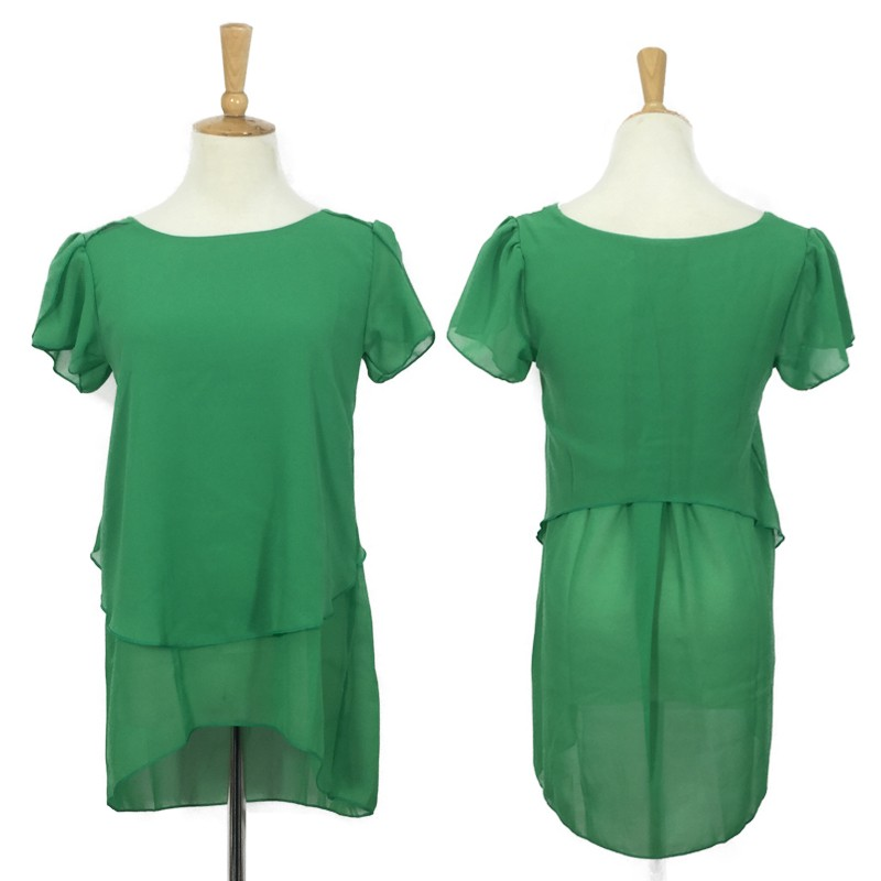 HTB14wWmMVXXXXXdaXXXq6xXFXXXL - Soperwillton New Summer Women Blouse Loose Shirt O-Neck Chiffon Blouse Female Short Sleeve Blouse Plus Size 5XL Shirts Tops