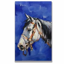 Horse Abstract Art Painting  Canvas Wall Pictures for Living Room